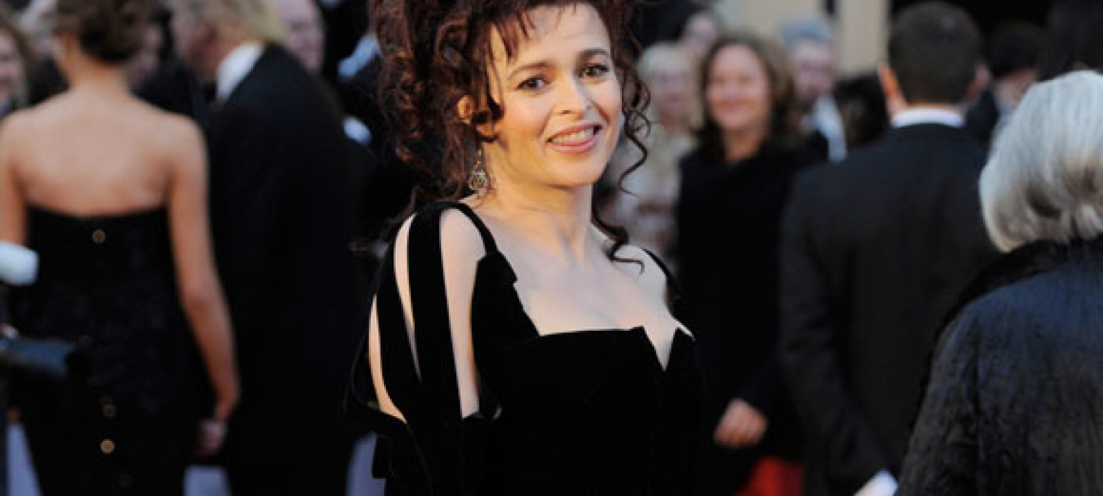 2011: Helena Bonham Carter at the Oscars