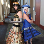 Tardis and Dalek (Doctor Who), Laura and Jess, Illinois