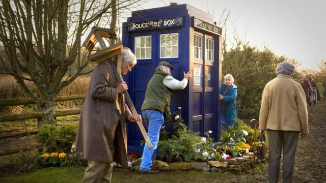 Eknodine and the TARDIS