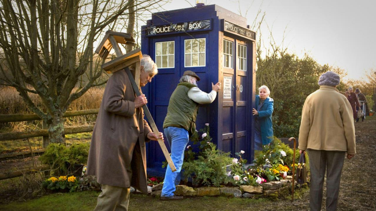 Eknodine and the TARDIS