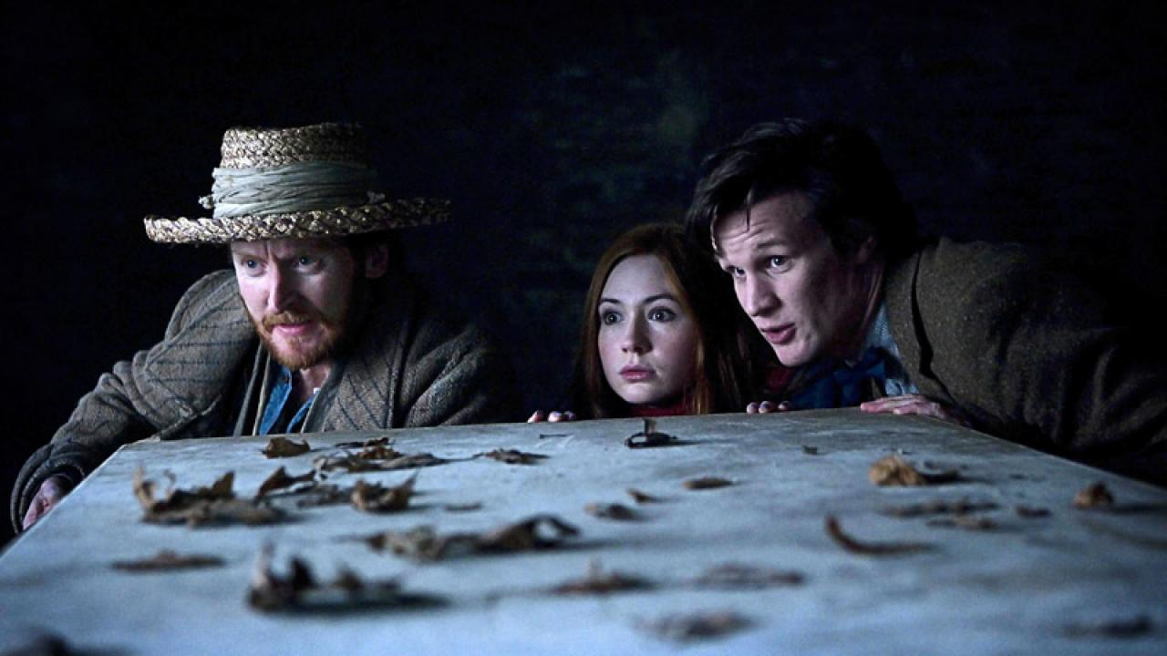The Doctor, Amy and Vincent