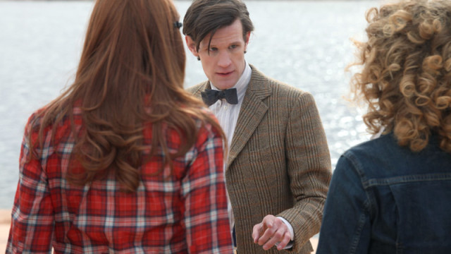 The Doctor, Amy Pond and River Song
