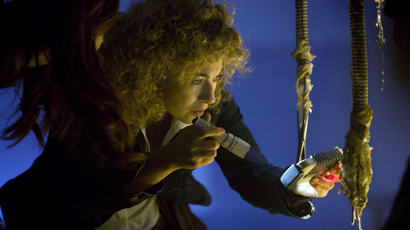River Song and Amy Pond