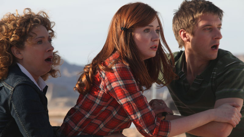Amy, Rory and River