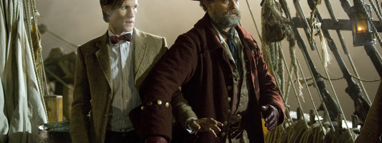 The Doctor and Captain Avery