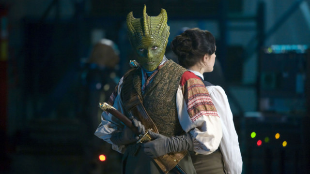 Madame Vastra and Jenny