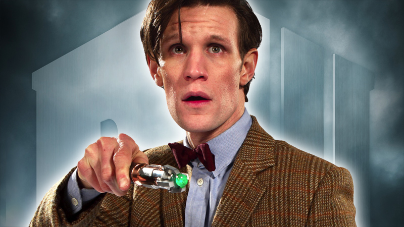 The Doctor and his sonic screwdriver