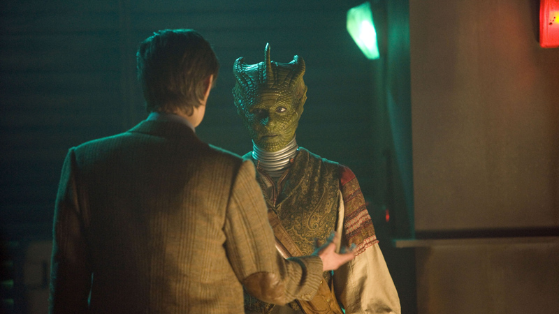 The Doctor and Madame Vastra
