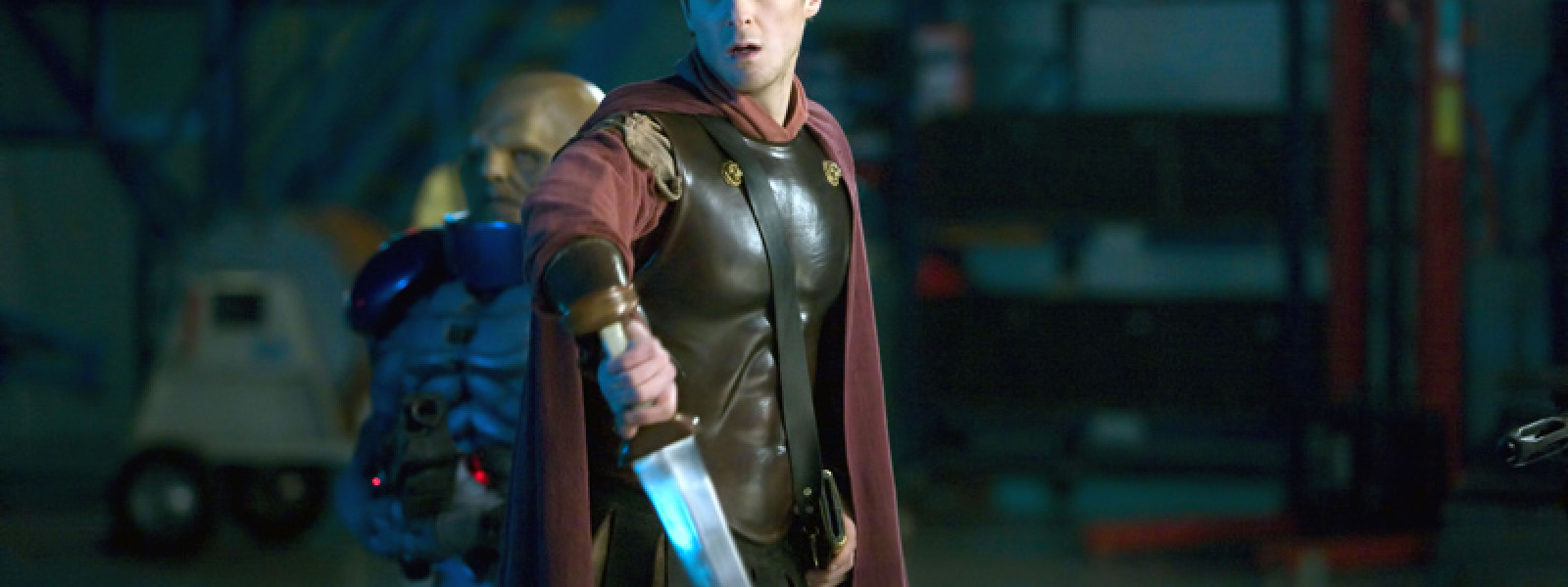 Rory hold on to his sword