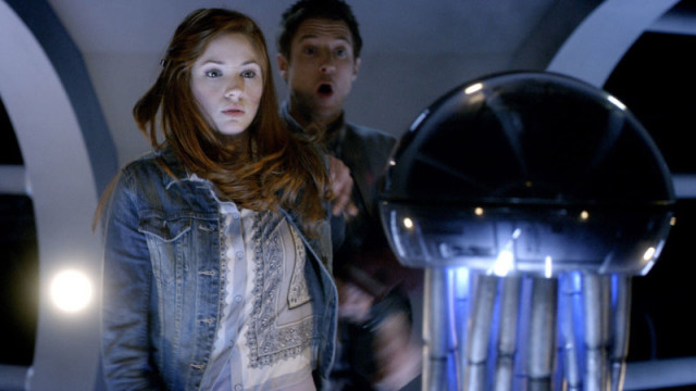 Amy and Rory are taken by surprise