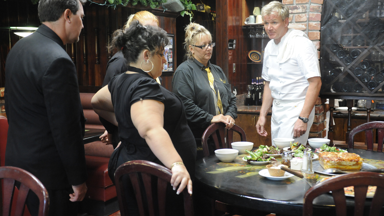 Anna vincenzo s ramsay s kitchen nightmares bbc america for Kitchen nightmares season 6 episode 12