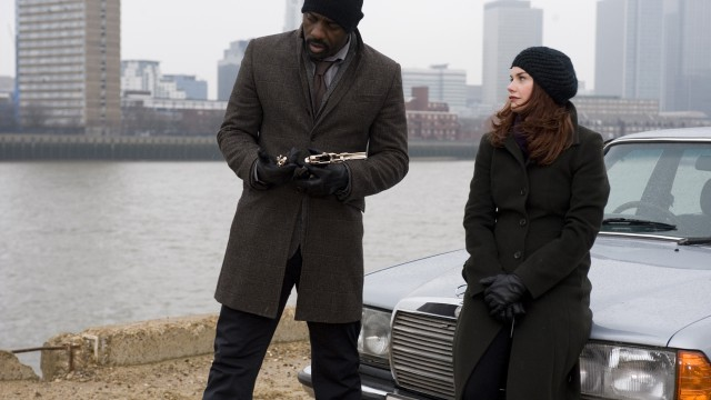Luther goes on the run with Alice