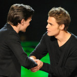 Smith received his award from Vampire Diaries star Paul Wesley. (Photo by Phil McCarten/PictureGroup) via AP IMAGES