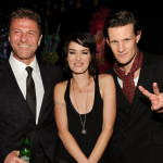 Smith with fellow Brits Sean Bean and Lena Headey, stars of Game of Thrones. (Photo by Frank Micelotta/PictureGroup) via AP IMAGES
