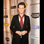 Matt Smith on the red carpet. (Photo by Frank Micelotta/PictureGroup) via AP IMAGES