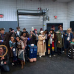 It's a Whovian family reunion.