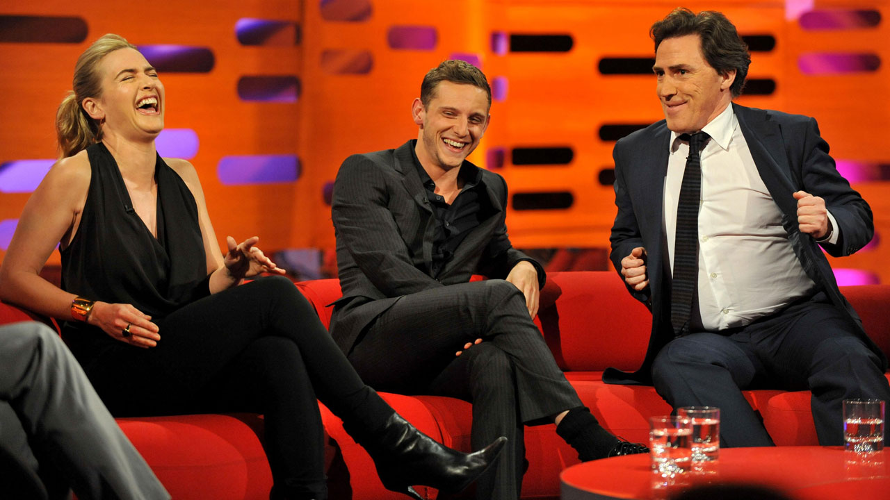 "The season 10 premiere of ""The Graham Norton Show"" kicks off with Kate Winslet, Jamie Bell and Rob Brydon."