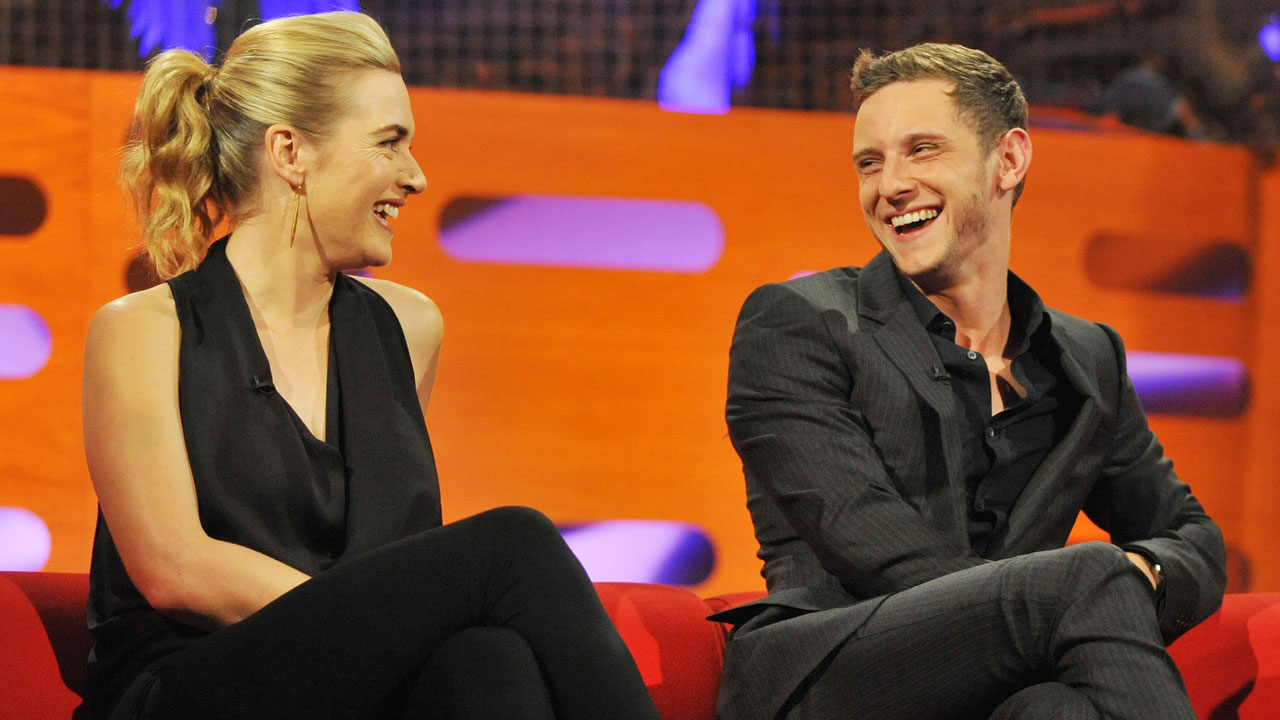 Kate Winslet and Jamie Bell poke a little fun at themselves.