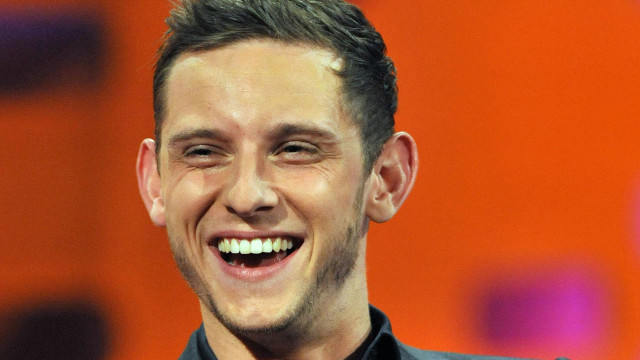 The dapper Jamie Bell talks about his dancing skills during the premiere of season 10.