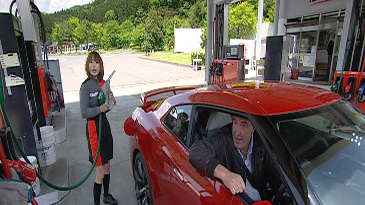Jeremy meets a cheerful gas pump attendant