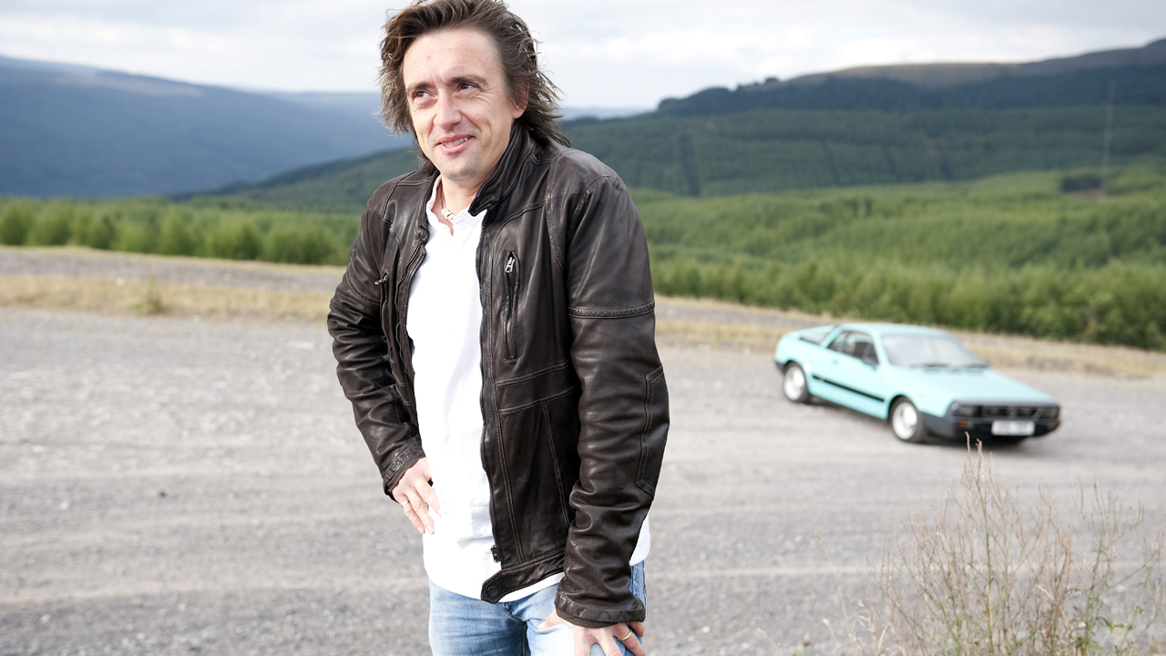 Richard with a Lancia