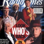 By the thirtieth anniversary, the show had been cancelled (back in 1989). But even a short 3D presentation for Children In Need was considered an event worth commemorating.For more classic Doctor Who covers, go to the Radio Times website
