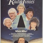 To celebrate the show's 20th Birthday, a Doctor Who special was made, starring all five previous incarnations (apart from Tom Baker, who only appeared in some unused footage, and William Hartnell, who had sadly died eight years beforehand).For more classic Doctor Who covers, go to the Radio Times website