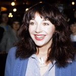 "Here's an excited Kate at the launch of her third album, ""Never For Ever"" in 1980."