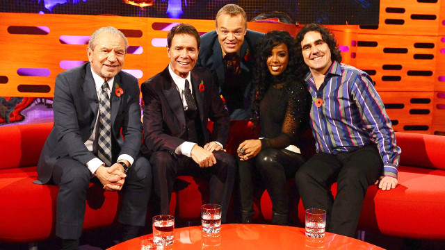 Graham's guest stars for episode 4: Lord Alan Sugar, Sir Cliff Richard, Kelly Rowland and Micky Flanagan.