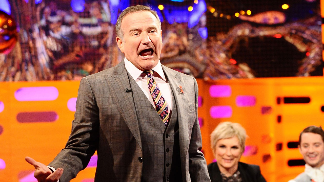 Goooooood evening Graham Norton fans: Robin Williams takes over episode 5.