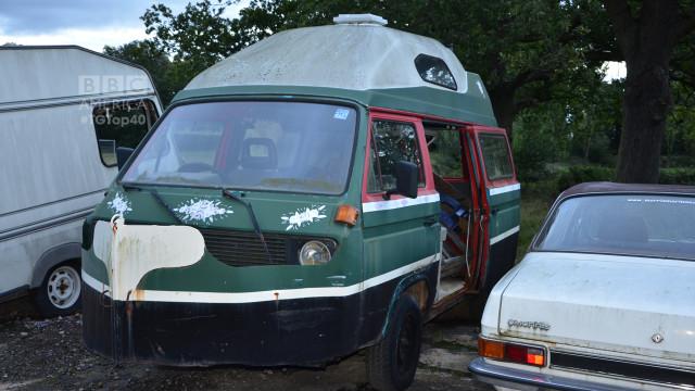 "The famous Amphibious camper van that Richard Hammond transformed into a ""damper van"" during Season 8. (Photo by Christopher Fetner)"