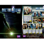 Keep track of time - or start counting down the moments to November 23, 2013 - with the Doctor Who wall calendar for 2012. This one features vivid color images from Seasons 5 and 6, which means you get to wake up to The Doctor, Amy, Rory, and River everyday. (Get it for a friend)
