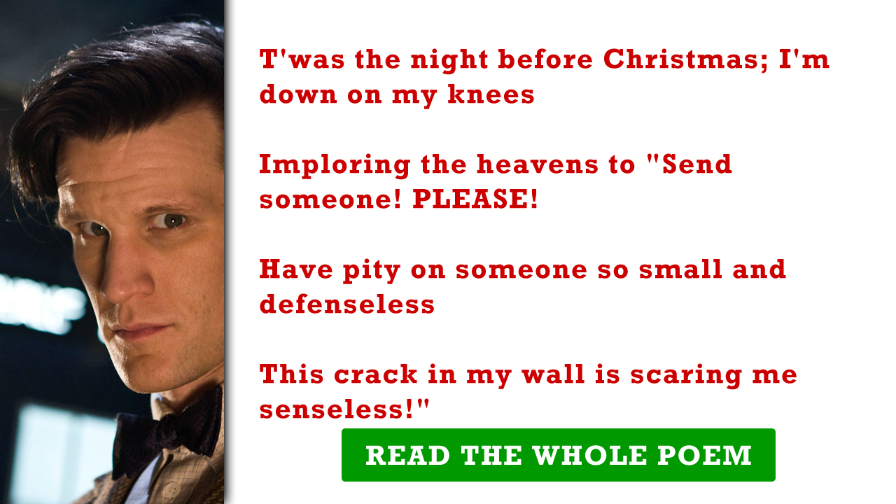 we - Funny Twas The Night Before Christmas