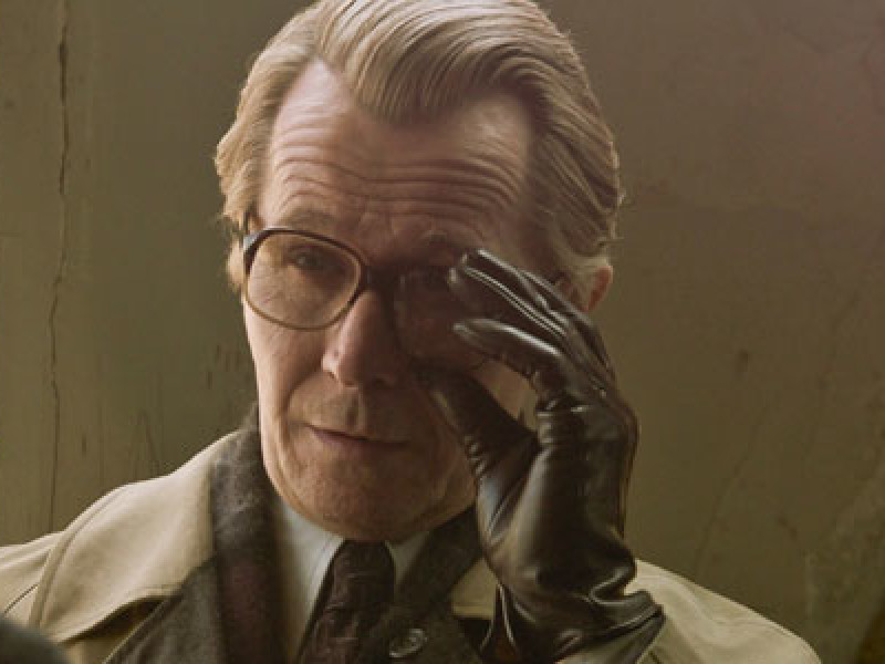 Gary Oldman as George Smiley – Secret Intelligence Service (SIS), or Circus, senior official; retired