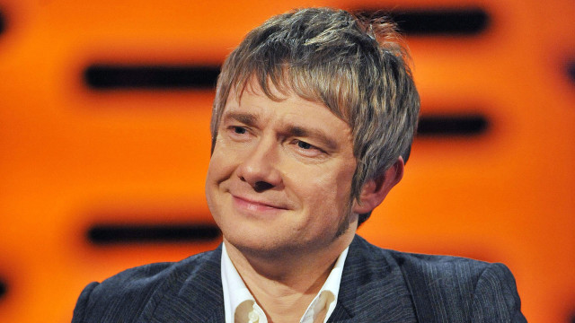 "Martin Freeman chats about the upcoming ""Hobbit"" films."