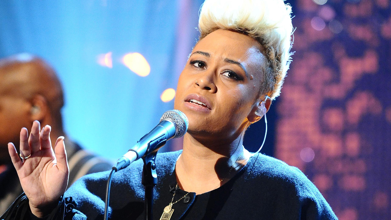 "Emeli Sandé performs ""Next to Me,"" the third single from her 2011 LP ""Our Version of Events."""