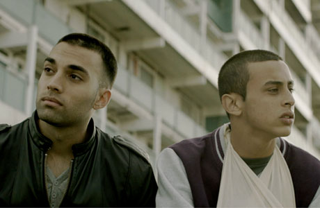 James Floyd (left) and Fady Elsayed in 'My Brother the Devil'