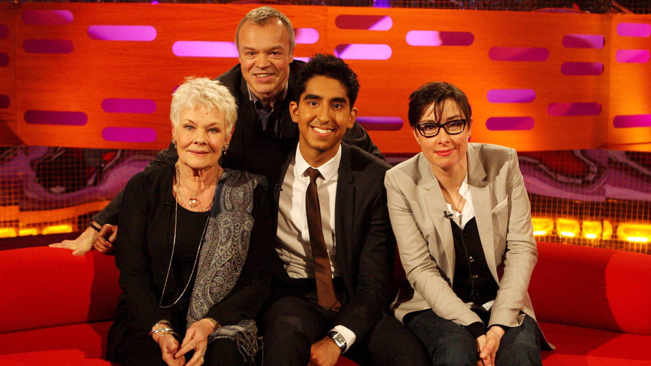 Dame Judi Dench, Dev Patel and Sue Perkins join Graham for episode 14.