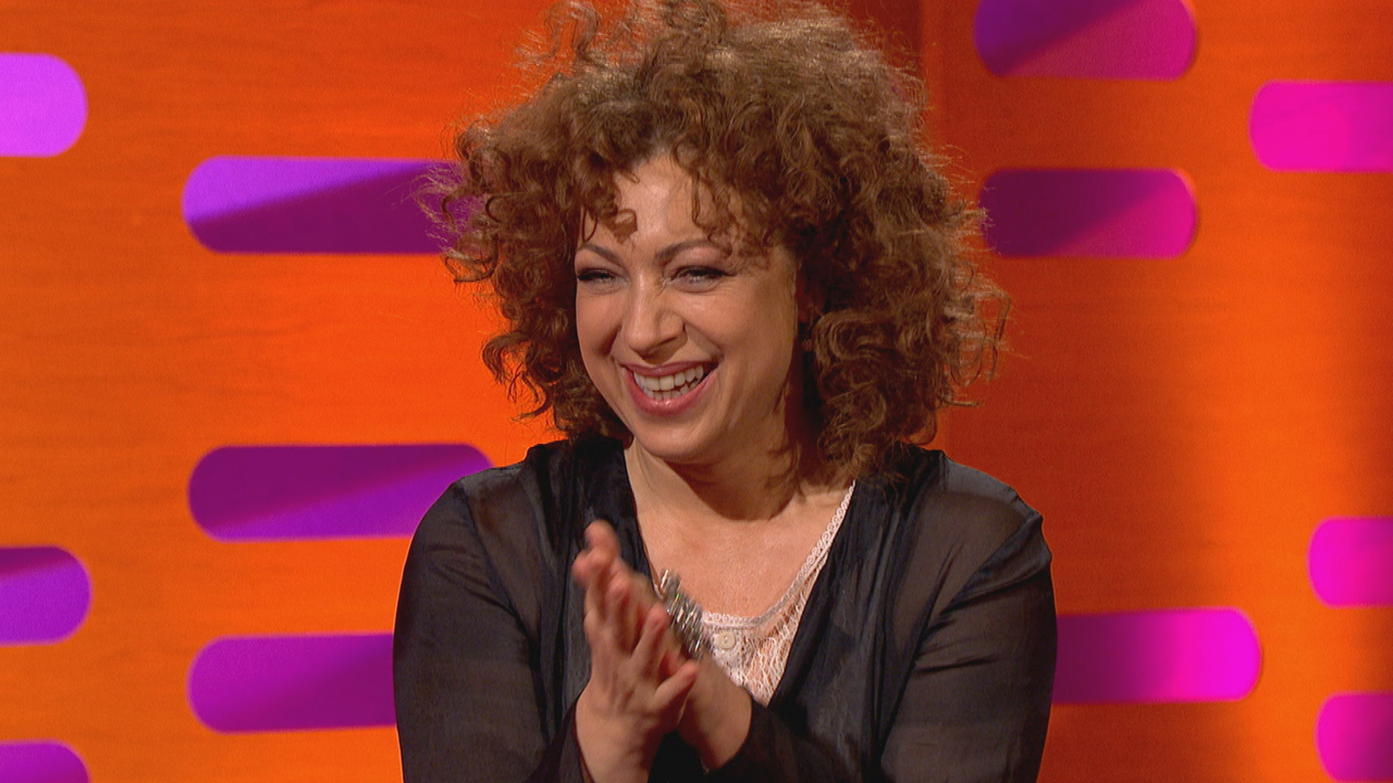 "Alex Kingston, ""Doctor Who's"" River Song, makes her second apperance on ""The Graham Norton Show."""