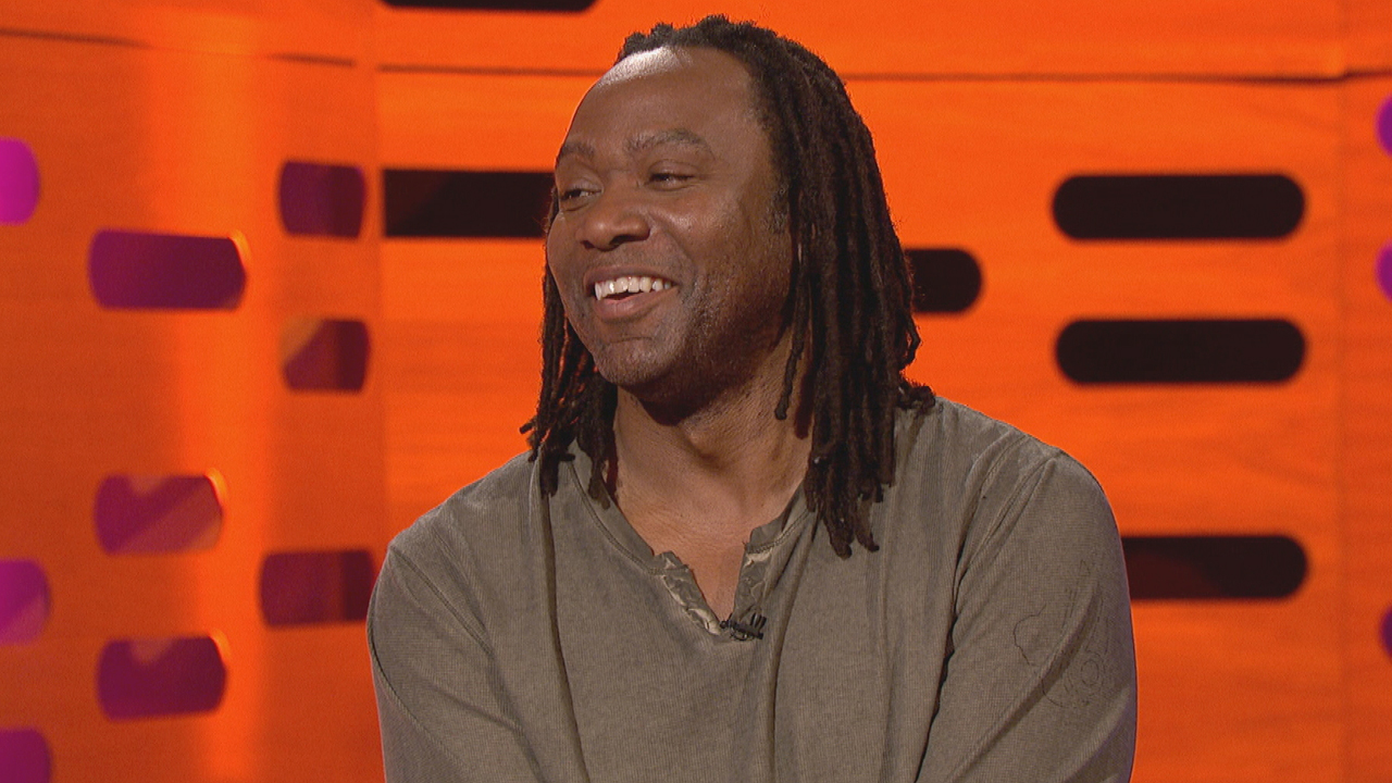 American stand-up comic Reginald D. Hunter.