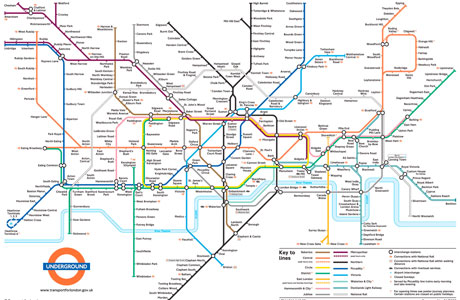 iconic british things part 4 the london underground map