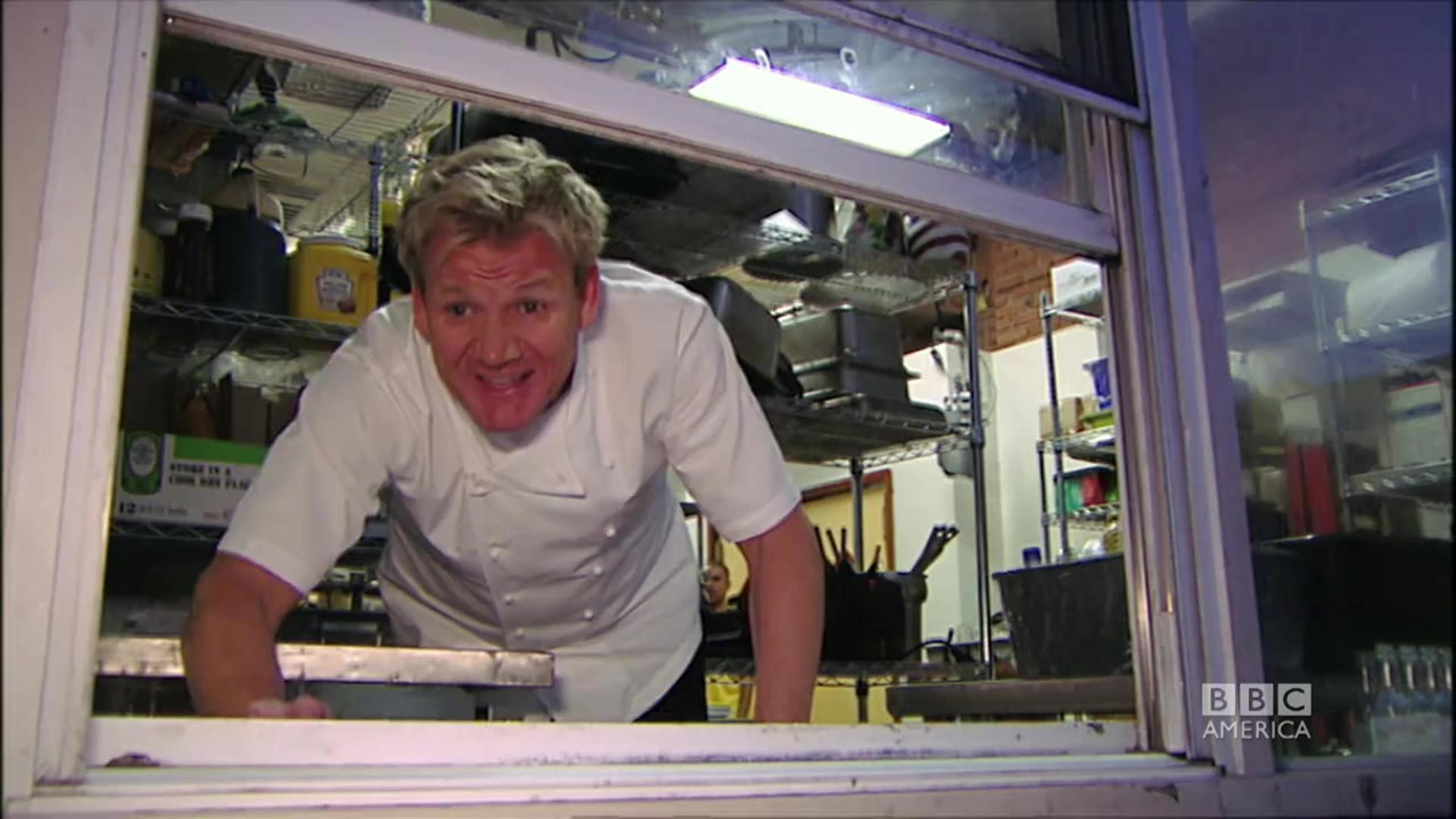 Sh*t Gordon Ramsay Says | Ramsay\'s Kitchen Nightmares | BBC America