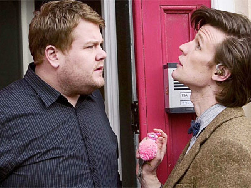 Craig Owens meets the Doctor