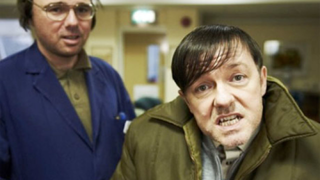 Karl Pilkington and RIcky Gervais in 'Derek'