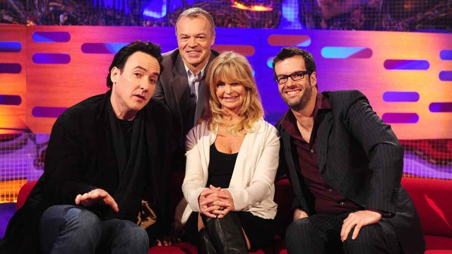 John Cusack, Goldie Hawn and Marcus Brigstocke join Graham for episode 17.