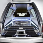 """Because you can't take it with you,"" writes AutoGuide.com, a custom hearse designer took this Rolls Royce and remodeled it to create ""the world's most expensive final ride."" ($662,000) It's got 12 cylinders, and it's built out of aluminum, so we imagine that there won't be any problem if you're in a hurry to get to your ultimate destination."