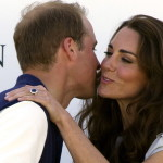 On their trip to southern California, the Duke and Duchess share a brief, intimate moment at the Santa Barbara Polo Club, after William's team has just won a game. (Tim Rooke, Rex Features/AP Images)