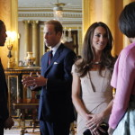 The royal couple meets President Obama and First Lady Michelle at Buckingham Palace in May. (Charles Dharapak/AP Images)