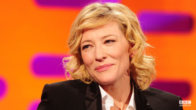 Cate Blanchett gets chatty with Graham on the premiere episode of Seaon 11.