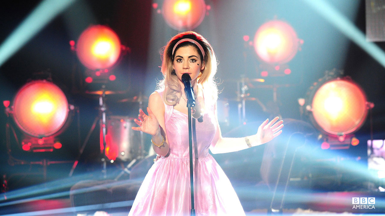 Marina and the Diamonds perform on 'The Graham Norton Show.'